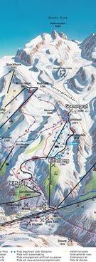 Part 2 of the Zermatt map
