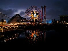 Love this shot we got of Paradise Pier in California Adventure:)
