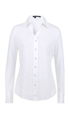 09a325f2c394de STEFFEN SCHRAUT White Valencia Fancy Blouse (7.210 RUB) found on ...
