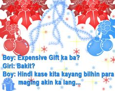 Merry Christmas Tagalog Pick Up Lines