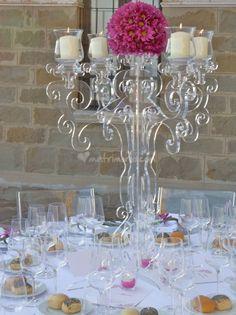 plexiglass chandelier