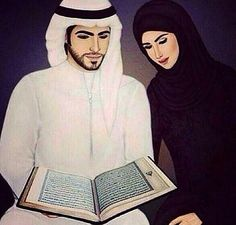 Halal Love ♡ ❤ ♡ Muslim Couple ♡ ❤ ♡ Marriage In Islam ♡ ❤ ♡. Cute Muslim Couples, Romantic Couples, Cute Couples, Cartoon Girl Images, Girl Cartoon, Muslim Images, Muslim Couple Photography, Hijabs, Islam Marriage