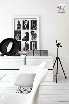 Home Decor – Living Room : © Paulina Arcklin Home Living Room, Living Room Designs, Living Room Decor, Living Area, Black And White Interior, Black White, Home Decor Signs, Living Furniture, Interior Exterior