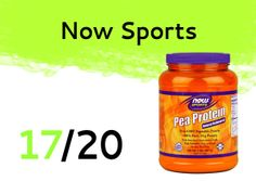 Now Sports is a great pea protein for a reduced price. Click on the image to check out the review! Pea Protein Powder, Drink Bottles, Pure Products, Vegetables, Drinks, Check, Sports, Image, Drinking
