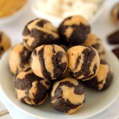 Grain-Free Coconut Peanut Butter Chocolate Protein Balls