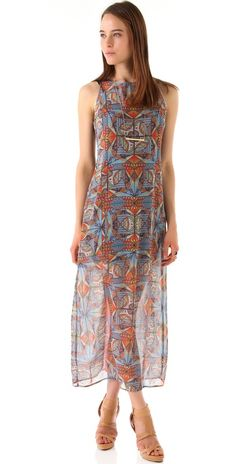 Clover Canyon ~ Stained Glass Maxi Dress
