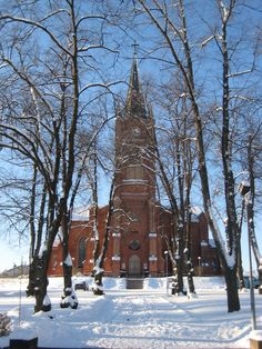Loviisa church Finland Grave Monuments, Graveyards, Homeland, Houses, Heart, Places, Outdoor, Beautiful, Cathedrals