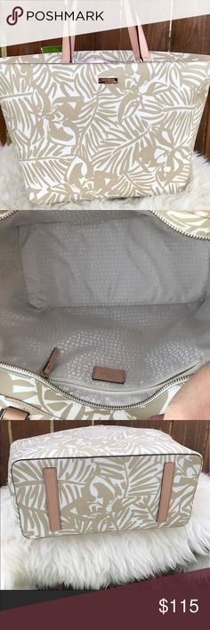Kate Spade Jules Grant Street Tote Brand new without tags! Beautiful Kate Spade tote perfect for summer! Never used! kate spade Bags Totes