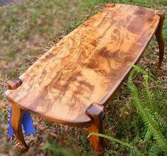 Custom Made Hardwood Art Furniture Coffee Table