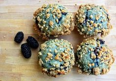 Blackberry pie muffins -  - from my fav http://pinned-recipes.com