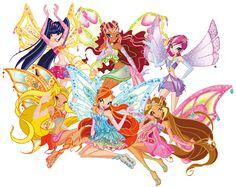 Season 3 transformation - Enchantix - Winx Club.