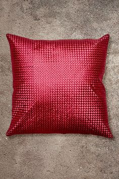 Bamboo Weave Red