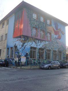 Athens street art. Mural, Pagrati. Athens, Graffiti, Street Art, Painting, Painting Art, Paintings, Painted Canvas, Athens Greece, Graffiti Artwork