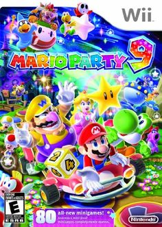 Mario Party 9 Game for the Nintendo Wii. Buy Now from Fully Retro! Super Mario Birthday, Mario Birthday Party, Super Mario Bros, Birthday List, Sonic Birthday, Birthday Ideas, Playstation, Xbox 360, Kirby Nintendo