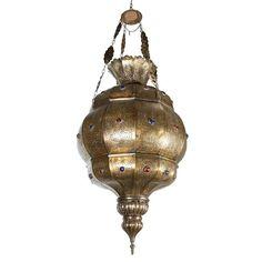 Moroccan hanging chandelier. [$6,850.00]