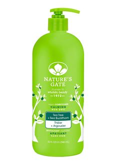 Nature's Gate Tea Tree Calming Conditioner, 32 Fluid Ounce ** Awesome product. Click the image : Hair Care  Conditioner
