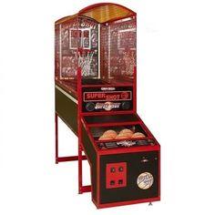 Game Room Basement, Man Cave Basement, Best Man Caves, Old License Plates, Skee Ball, Man Cave Diy, Indoor Basketball, Man Room, Super Party