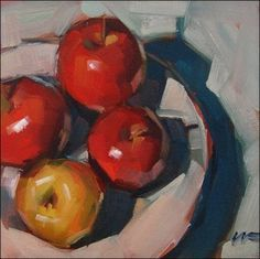 A tutorial on keeping colors crisp and clean from EmptyEasel.com #OilPaintingStillLife