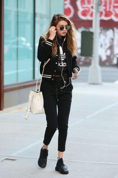 Fashion Tips Hijab Gigi Hadid street style.Fashion Tips Hijab Gigi Hadid street style Estilo Gigi Hadid, Gigi Hadid Style, Look Street Style, Street Chic, Street Wear, Street Styles, Paris Street, Fashion Mode, Fashion Outfits