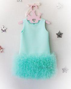 Tutu Dreams Sequin Mermaid Dress for Girls 1-12Y with Mermaid Headband Birthday Halloween Party/…