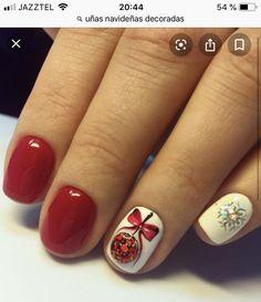 Nails, Beauty, Christmas Nails, Finger Nails, Ongles, Cosmetology, Nail, Sns Nails