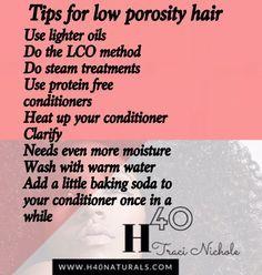 Low Porosity Hair Ti