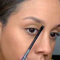 Easy Brow Tutorial Mascara Tips is part of Eyebrow makeup tutorial - Easy Brow Tutorial Easy and quick way to give your brows a better look demonstrating this technique using The BrowGal products Map out your eyebrows, thbrows tutorial StepbyStep Eyebrows Eyebrow Makeup Products, Makeup 101, Makeup Guide, Skin Makeup, Beauty Makeup, Makeup Hacks, Hair Beauty, Simple Makeup, Natural Makeup
