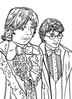 89 Harry Potter printable coloring pages for kids. Find on coloring-book thousands of coloring pages. Harry Potter Fan Art, Harry Potter Scar, Harry Potter Wedding, Harry Potter Gifts, Harry Potter Birthday, Colouring Pages, Coloring Pages For Kids, Adult Coloring, Coloring Books
