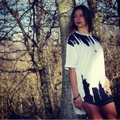 New York Tee Long is a must have! Get it on www.melfactory.it #tee #long #unisex #oversize #fashion #victim
