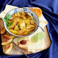 Turmeric & Saffron: Khoresh-e Holu - Persian Peach Stew with Chicken