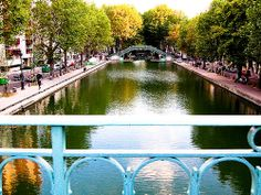 Canal Saint-Martin -- Paris, France