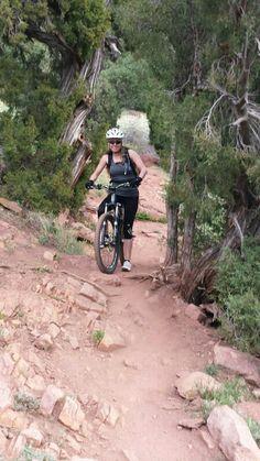 Bring it! I love mountain biking!