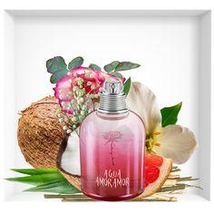 Agua de Amor Amor, new perfume signed by Cacharel Cacharel Perfume, Body Essence, Best Perfume, Perfume Fragrance, Vintage Perfume Bottles, Antique Bottles, Antique Glass, Cologne, Lipsticks