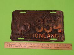 1948 MAINE LICENSE PLATE 15-354