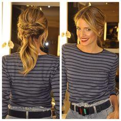 Vc sabia que colocamos muitos penteados e inspirações no nosso site??www.marcosproenca.com.br . Tem vídeos maravilhosos com a minha MUSA @helenabordon  #penteado #hairdo #braids #trancas #festa #casamento #party #loira #blonde