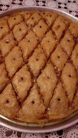 ΜΑΓΕΙΡΙΚΗ ΚΑΙ ΣΥΝΤΑΓΕΣ 2: Μπακλαβάς !!! Greek Sweets, Greek Desserts, Greek Recipes, Food Gallery, Aesthetic Food, Confectionery, Apple Pie, Bakery, Recipies