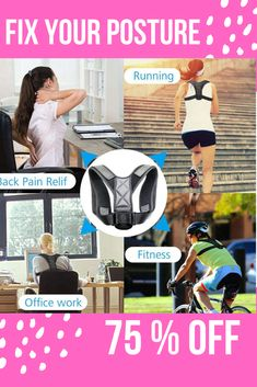 The Best Posture Corrector For Men and Women! The Top Posture A Back Brace For Posture and Mind. Our Zeowo Back Posture Corrector heals your back problems and your depression. Our Zeowo Posture Corrector is made of custom cushioning. Back Brace For Posture, Fix Bad Posture, Better Posture, Good Posture, Shoulder Posture Corrector, Posture Corrector For Men, Shoulder Support Brace, Posture Stretches, Posture Support
