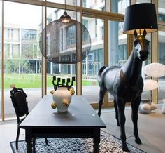 Life-Size Horse Lamp, $7981