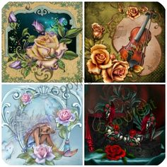 Images from Wish Upon a Rose 2nd Edition £10.99 #CRAFTfeat