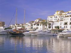Puerto Banus, Marbella, Spain... Best place to party and relax.