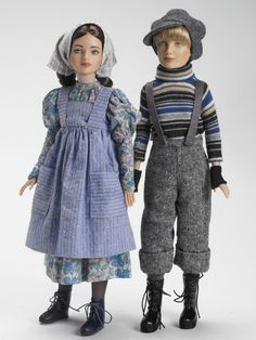 gerda and kai dolls from the snow queen ~ by robert tonner
