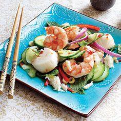 Thai Seafood Salad | CookingLight.com