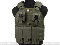 Emerson Compact High Speed Plate Carrier - (Ranger Green), Tactical Gear/Apparel, Body Armor & Vests, OD / Green - Evike.com Airsoft Superstore