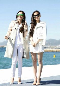 Shu Qi & Angelababy at Festival de Cannes