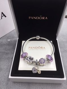 New in our store:pandora purple th... check it out here!http://www.charmsilvers.com/products/pandora-purple-theme-charm-bracelet-1?utm_campaign=social_autopilot&utm_source=pin&utm_medium=pin