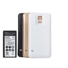 6500mAh Extended Battery + Back Cover For Samsung Galaxy S5 i9600