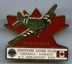Lions Club - Chatham, Ontario - 2009 - DC3 - Dakota