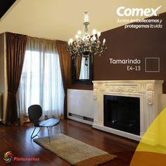 Recibe a tus seres queridos con la calidez que solo los colores #Comex le dan a tu hogar. #Decoración