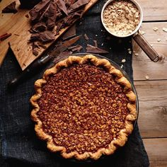 Our favorite bittersweet and semisweet chocolate desserts include recipes for blackout cookies, flourless cakes, dark chocolate truffles, and cocoa puddings. Pie Recipes, Dessert Recipes, Oats Recipes, Sweet Recipes, Baking Recipes, Oatmeal Pie, Savory Oatmeal, Toast In The Oven, Best Pie