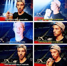 I love Josh Dun💕💕💃